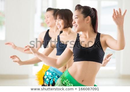 woman dance belly dance stock photo © adrenalina