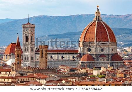 ドーム · 大聖堂 · フィレンツェ · イタリア · 空 · 建物 - ストックフォト © lorenzodelacosta