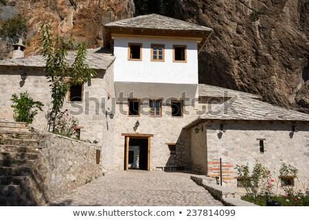 Famous dervish house in Blagaj Buna, near to Mostar in Bosnia an Stock photo © zurijeta
