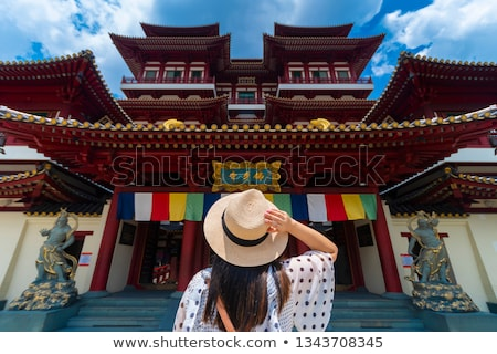 Singapore · buddha · tand · tempel · China · stad - stockfoto © 5xinc