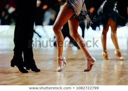 Latino dance Stock photo © barabasa