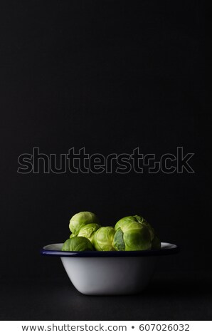 テクスチャ · 食品 · 表 · 頭 · サラダ · 食べる - ストックフォト © frannyanne