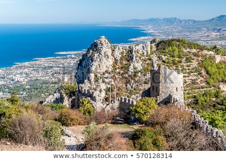 Ruins of St Hilarion Castle. Kyrenia District, Cyprus Stock photo © Kirill_M