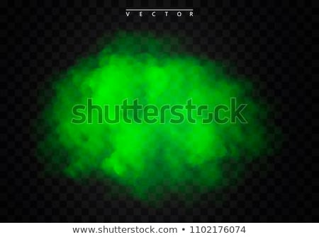 green smoke on white stock photo © petrmalyshev
