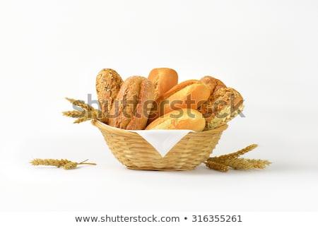 Various Bread in Basket Stock photo © zhekos