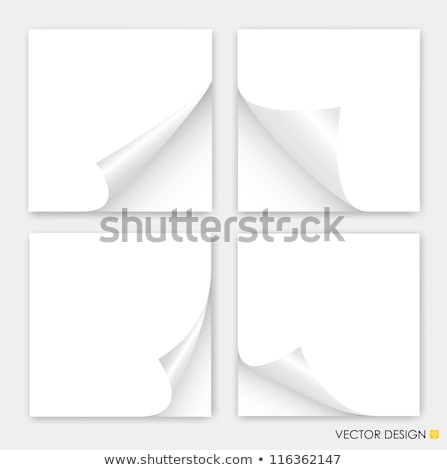 white pad page curl Stock photo © nicemonkey