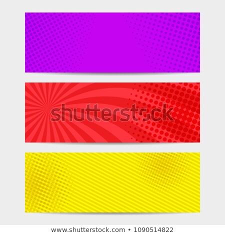 absztrakt · halftone · textúra · digitális · minta · kör - stock fotó © sarts