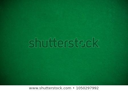 speelkaarten · poker · tabel · casino · groene · succes - stockfoto © wavebreak_media