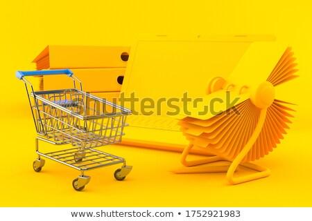 Folder Index with Sales Plans. 3D Illustration. Stock photo © tashatuvango