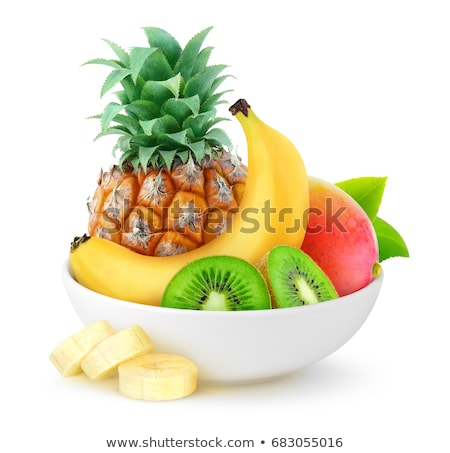 bowl of kiwi halves and quarters Stock photo © Digifoodstock