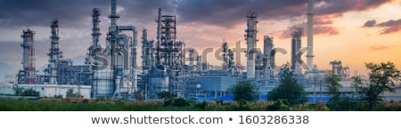 industrial panorama stock photo © tracer