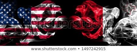 サッカー 炎 フラグ マルタ 黒 3次元の図 ストックフォト © MikhailMishchenko