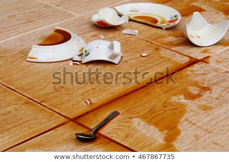 broken cup of coffee Stock photo © nito