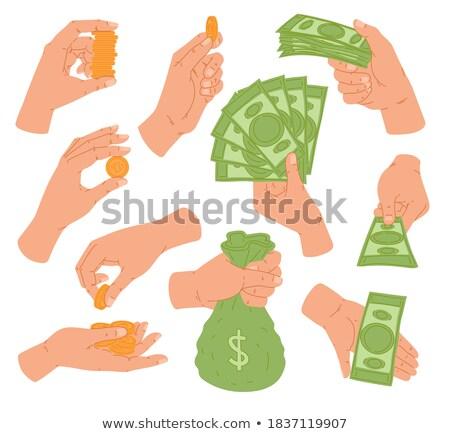 コイン · ドル記号 · フル · お金 - ストックフォト © studiostoks