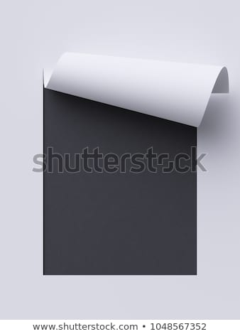 pronóstico · negro · pizarra · 3D · tecnología - foto stock © tashatuvango