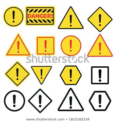 Typique signe symbole illustration noir Photo stock © magann