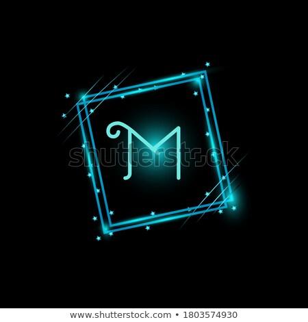 Czarny streszczenie ramki nowoczesne metaliczny tapety Zdjęcia stock © kurkalukas