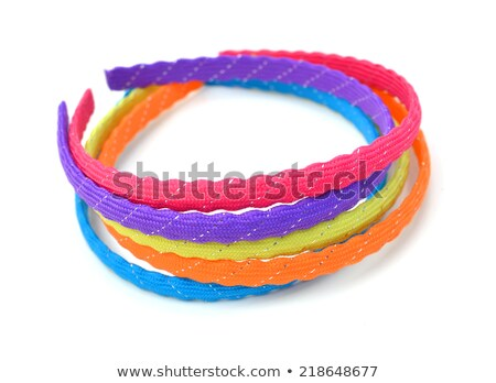 teenage girl with plastic hoop stock photo © is2