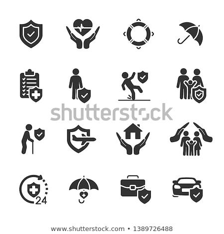 Vehicle insurance icons Stock photo © sahua