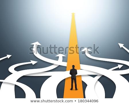 change strategic direction stock photo © lightsource