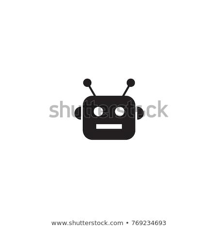 nyugtalan · férfi · fej · vektor · terv · illusztráció - stock fotó © maryvalery