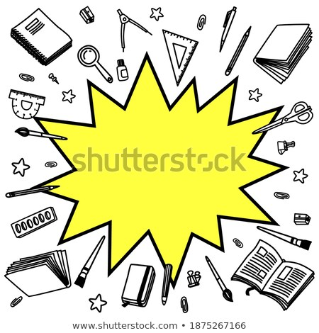 Background with Boom comic book explosion vector design background Stock photo © Designer_things