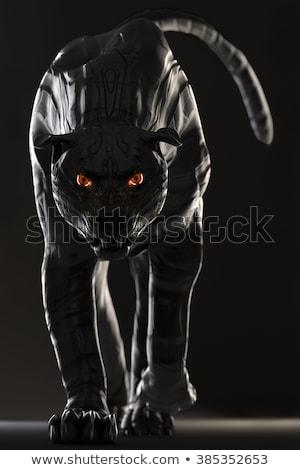 Zło robot kot cartoon ilustracja patrząc Zdjęcia stock © cthoman