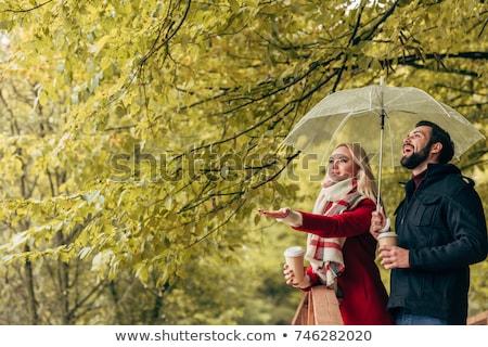 fiatal · kempingezés · pár · ölel · nyár · vidék - stock fotó © dolgachov