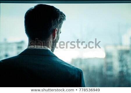 Foto stock: Negócio · imagem · empresário · indústria · corporativo · preto