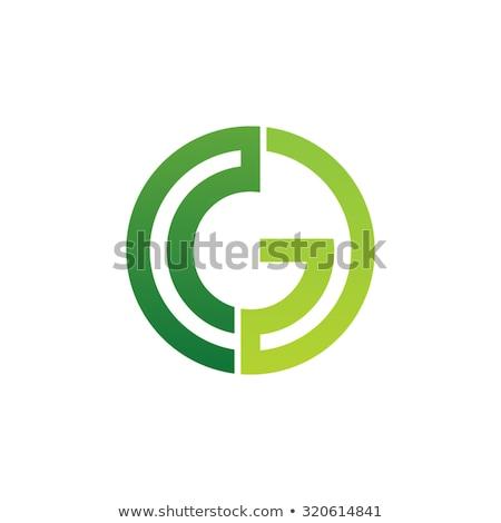 Yeşil logo mektup g vektör ikon Stok fotoğraf © blaskorizov