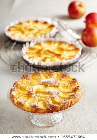 небольшой яблоко торты фрукты Jam никто Сток-фото © Digifoodstock