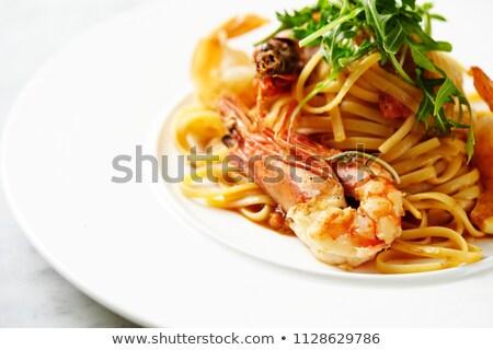 пасты царя сыра пластина свежие еды Сток-фото © grafvision
