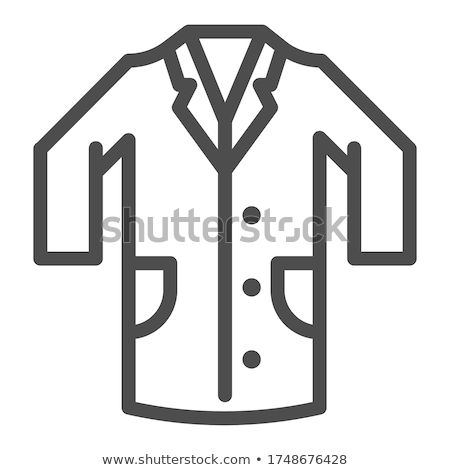Doctor in uniform, working concept vector icon Stock photo © robuart