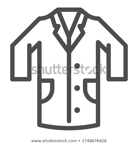 orvos · vektor · ikon · piktogram · illusztráció · stílus - stock fotó © robuart