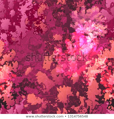 Coral reef in yellow and purple color Stock photo © colematt
