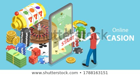 Fortune Wheel Machines for Gamblers to Play Gaming Stock photo © robuart