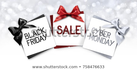 presents and gift on black friday commercial event stock photo © robuart