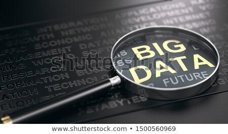 nagy · adat · technológia · internet · szerver · hálózat - stock fotó © olivier_le_moal