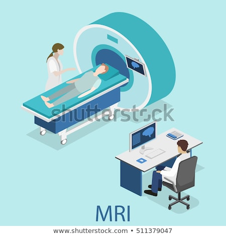 MRI Magnetic Resonance Imaging of Patient Web Stock photo © robuart