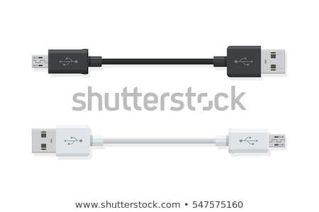 USB cables Stock photo © restyler