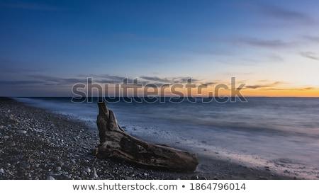 Idílico cenário sol para baixo oceano Foto stock © amok