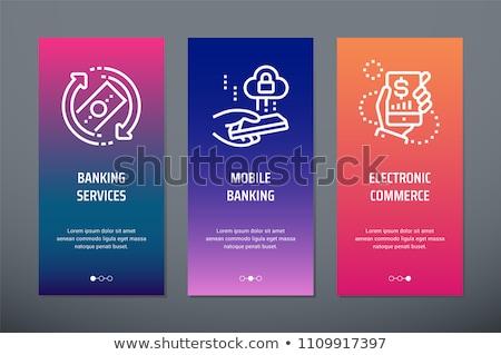 Bank check vector concept metaphor Stock photo © RAStudio