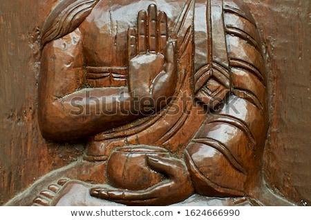 nepalese buddha sculpture Stock photo © smithore