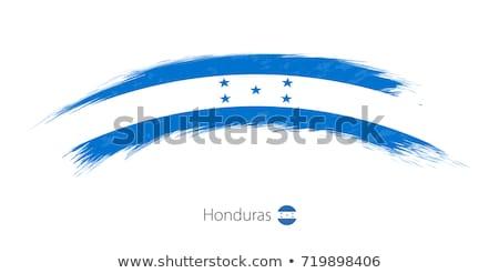 Grunge vlag Honduras oude vintage grunge textuur Stockfoto © HypnoCreative