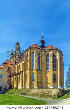 Церкви девственница предположение монастырь полиции Чешская республика Сток-фото © phbcz