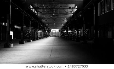 edifício · industrial · ouvir · construção · espaço · indústria - foto stock © hasenonkel