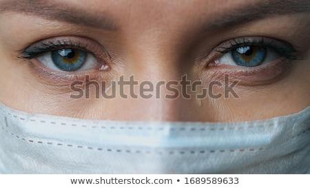 jovem · bem · sucedido · feminino · médico · cartão · de · visita - foto stock © photography33