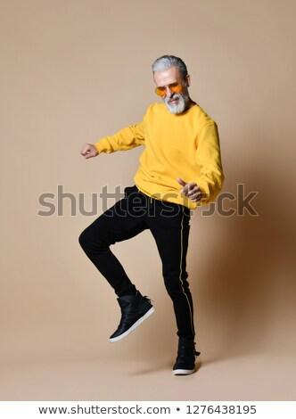 mature businessman dancing stock photo © photography33