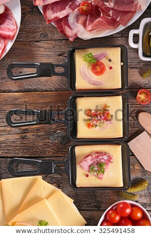 Assorted Meat delicatessen Stock photo © zhekos