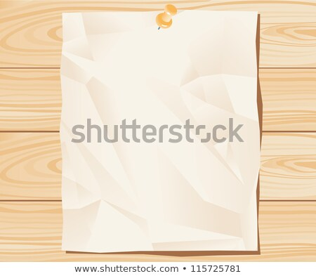 Close up of lined note paper on wooden background  Stock photo © Taigi